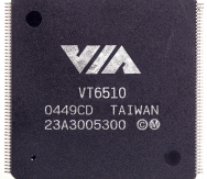 VIA_Atlantic_II_VT6510_Switch_Controllers_chip_image