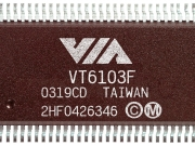 VIA_Tahoe_VT6103F_Ethernet_PHY_Transceivers_chip_image