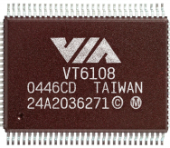 VIA_Tahoe_VT6108_Ethernet_PHY_Transceivers_Chip_Image